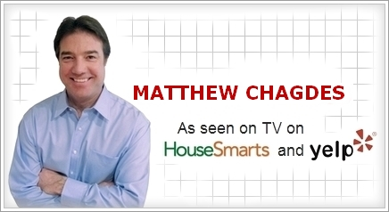 MATTHE CHADGES - As seen on TV on HouseSmarts and Yelp.com
